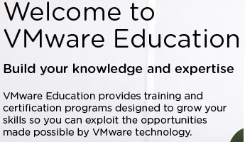 Thoughts on VMware Certification and Education